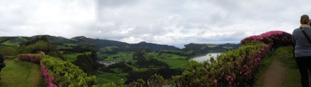 Pico do Ferro Belvedere, Panorama of the Furnas Valley