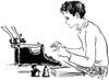 typing_girl