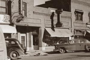 Frank's Musette sometime in the 1940's, before my time. Benson Historical Society Photo